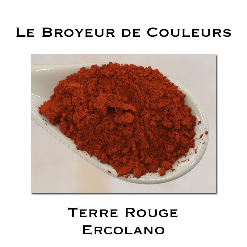 Pigment Terre Rouge Ercolano