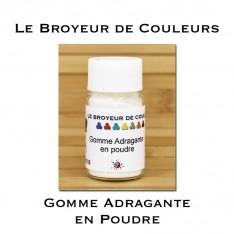 Gomme Adragante en Poudre - 10 ml