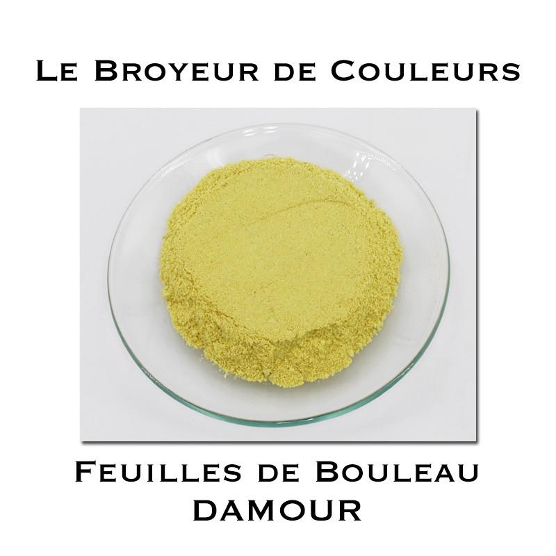 Pigment DAMOUR - Feuilles de Bouleau