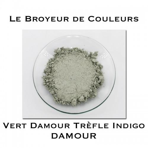 Pigment DAMOUR - Vert Damour Trèfle Indigo