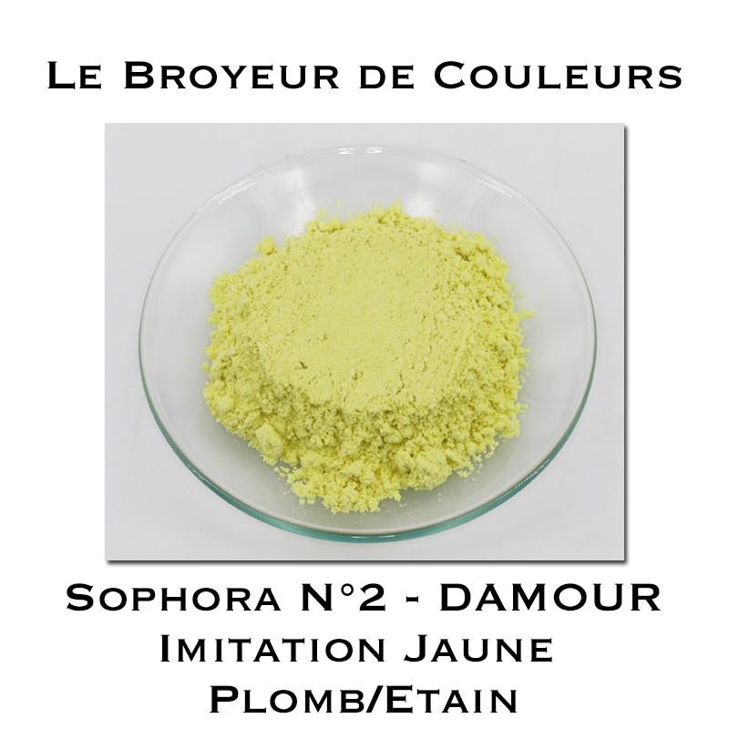 Pigment DAMOUR - Sophora N°2 - Imitation Jaune Plomb/Etain