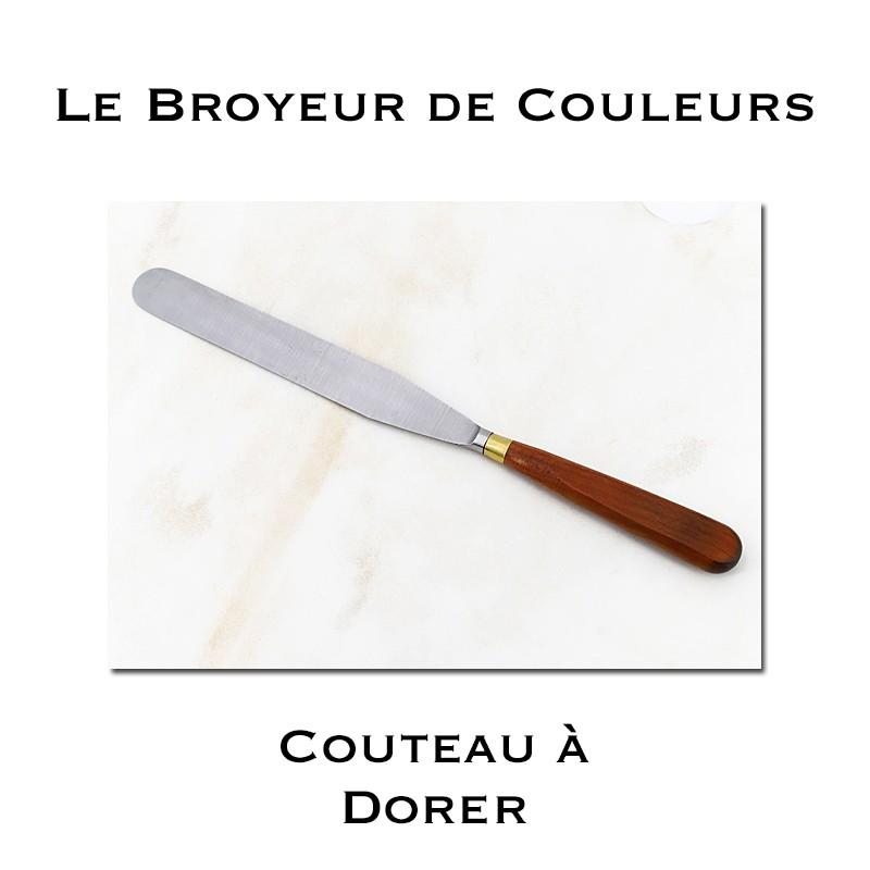 Couteau à dorer Pro - Lame Droite