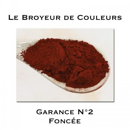 Pigment Garance N°2 - Foncée
