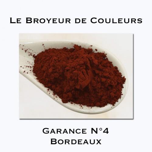 Pigment Garance N°4 - Bordeaux