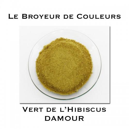 Pigment DAMOUR - Vert de l'Hibiscus