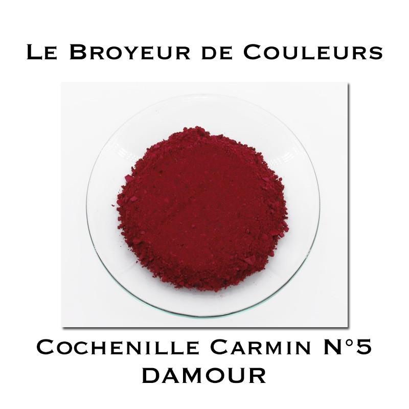 Pigment DAMOUR - Cochenille Carmin N°5