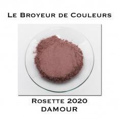 Pigment DAMOUR - Rosette 2020