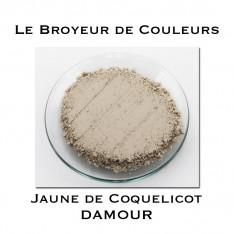 Pigment DAMOUR - Jaune de Coquelicot