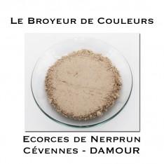 Pigment DAMOUR - Ecorces de Nerprun des Cévennes
