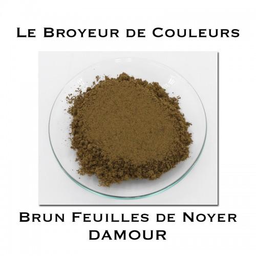 Pigment DAMOUR - Brun de Feuilles de Noyer