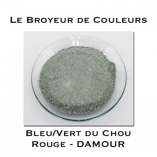 Pigment DAMOUR - Bleu/Vert du Chou Rouge