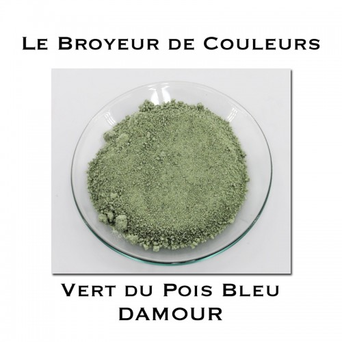 Pigment DAMOUR - Vert du Pois Bleu