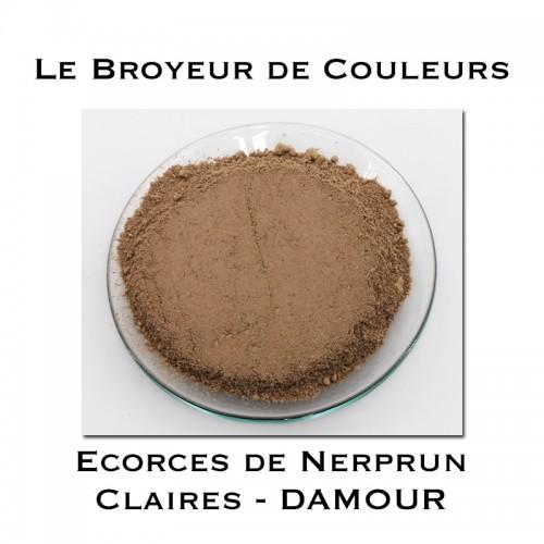 Pigment DAMOUR - Ecorces de Nerprun Claires