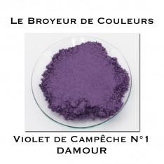 Pigment DAMOUR - Violet de Campêche N°1