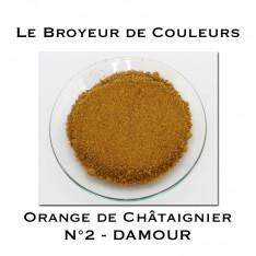 Pigment DAMOUR - Orange de Châtaignier N°2