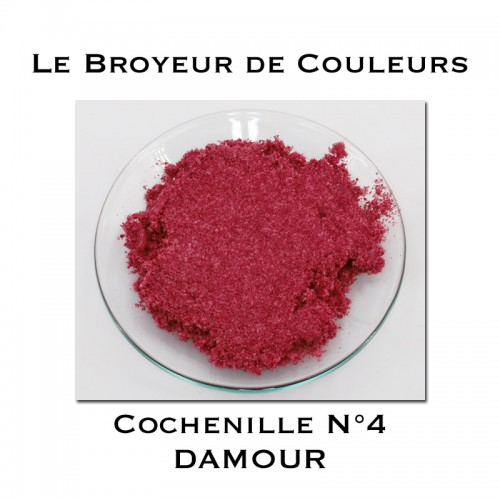 Pigment DAMOUR - Cochenille N°4