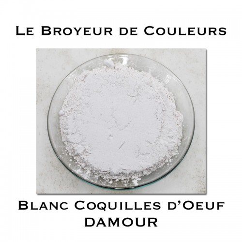 Pigment DAMOUR - Blanc Coquilles d'Oeuf
