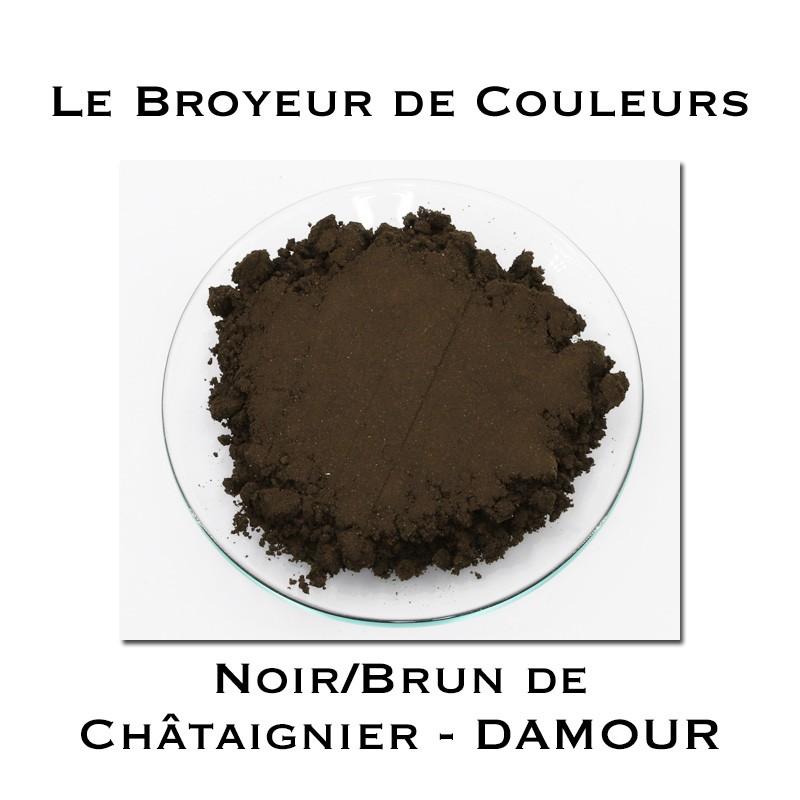 Pigment DAMOUR - Noir/Brun de Châtaignier 2021