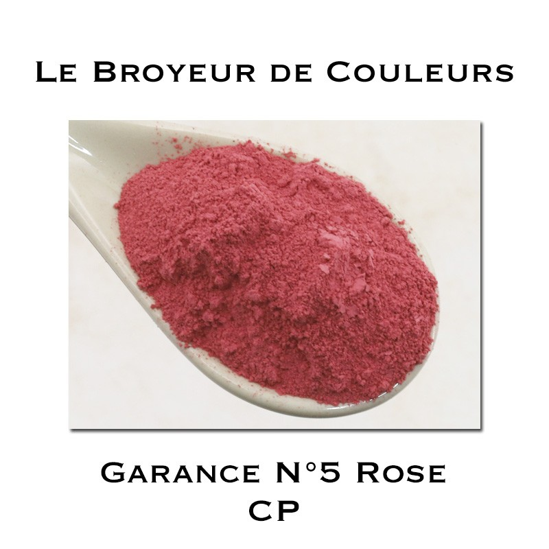 Pigment Garance N°5 - Rose - CP