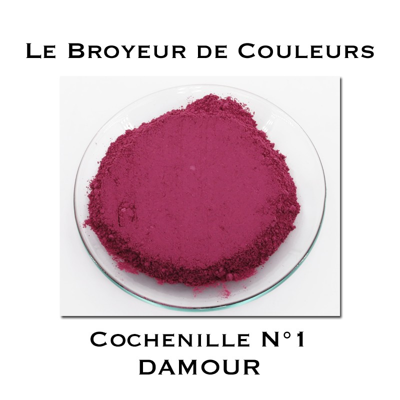 Pigment DAMOUR - Cochenille N°1