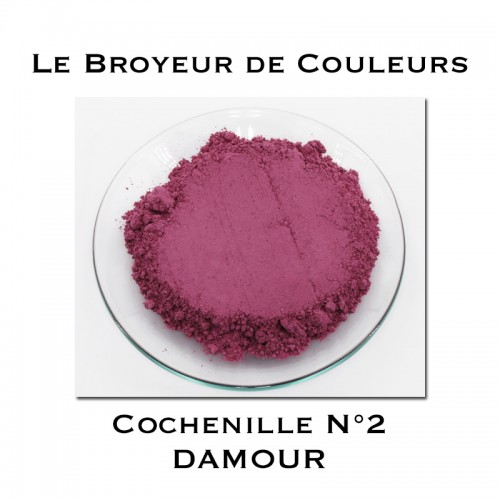 Pigment DAMOUR - Cochenille N°2