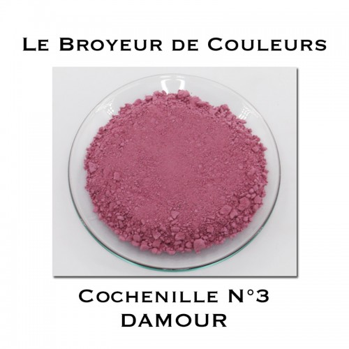 Pigment DAMOUR - Cochenille N°3