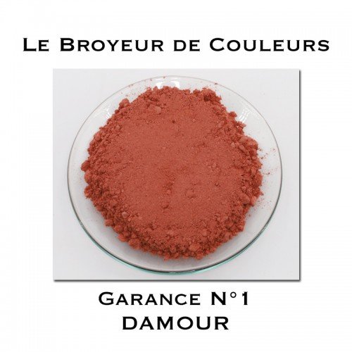 Pigment DAMOUR - Garance N°1