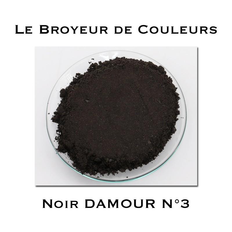 Pigment DAMOUR - Noir DAMOUR N°3