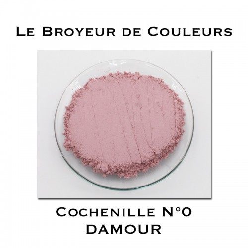 Pigment DAMOUR - Cochenille N°0
