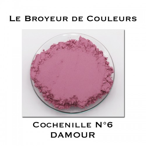 Pigment DAMOUR - Cochenille N°6