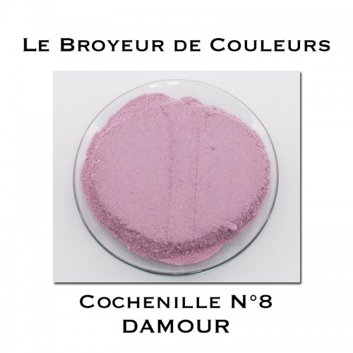 Pigment DAMOUR - Cochenille N°8
