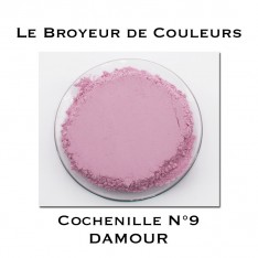 Pigment DAMOUR - Cochenille N°9