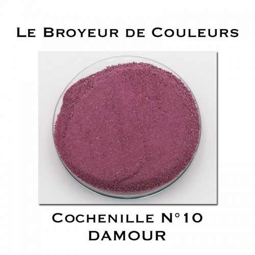 Pigment DAMOUR - Cochenille N°10