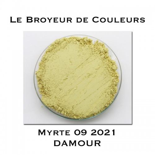 Pigment DAMOUR - Myrte 09 2021