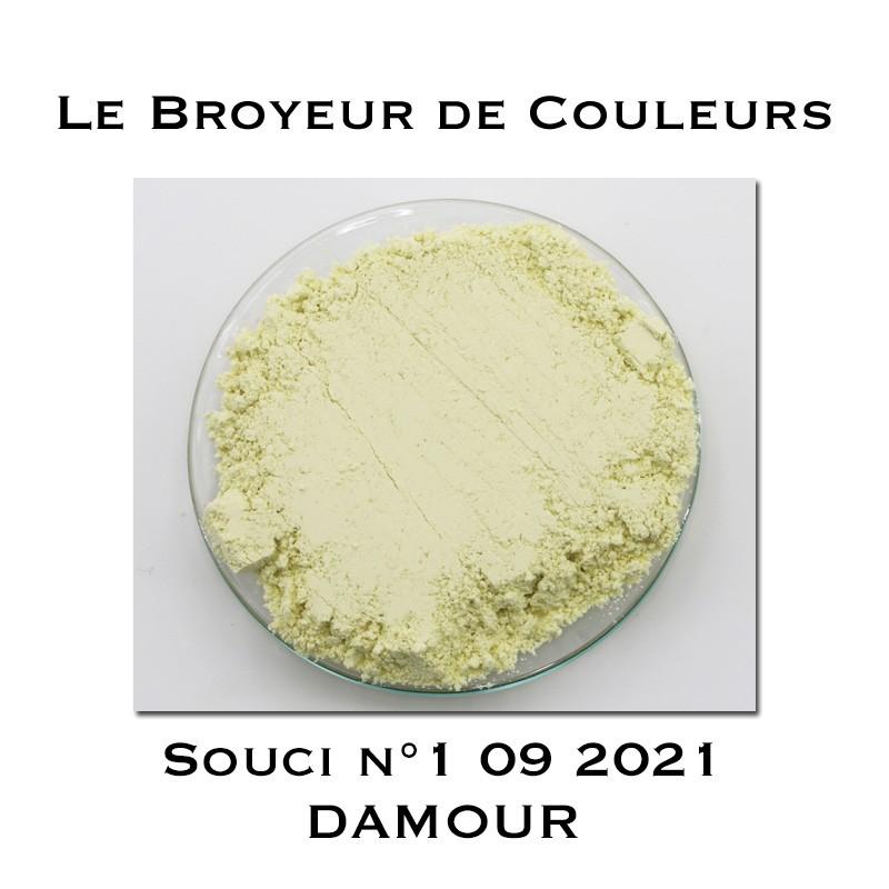 Pigment DAMOUR - Souci N°1 09 2021
