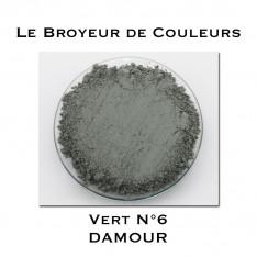 Pigment DAMOUR - Vert DAMOUR N°6