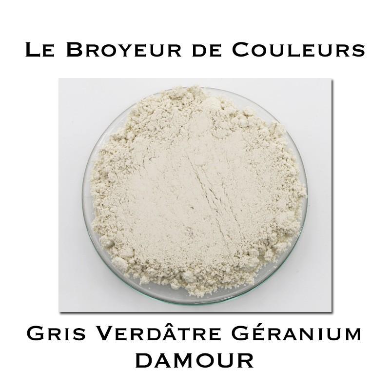 Pigment DAMOUR - Gris Verdâtre Damour - Géranium