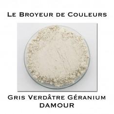 Pigment DAMOUR - Gris Verdâtre Géranium