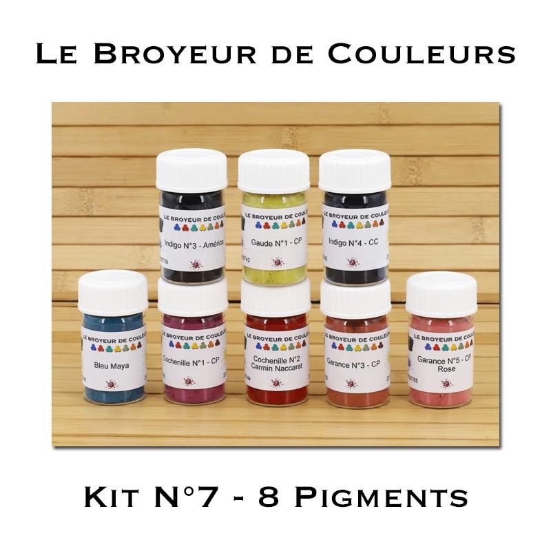Kit N°7 - 8 Pigments - Flacons 20 ml