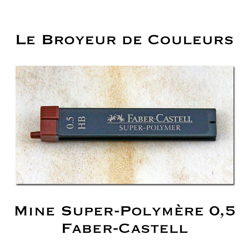 Mines Super-Polymère 9065 S - HB 0,5 - Faber-Castell