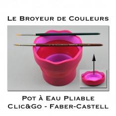 Gobelet Pliable Clic&Go Faber-Castell