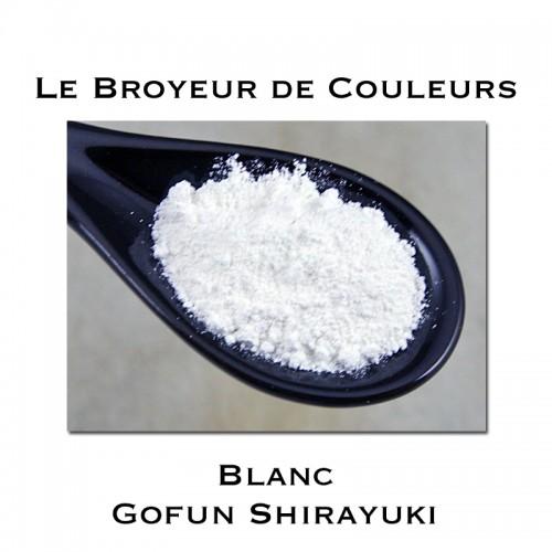 Pigment Blanc Gofun Shirayuki