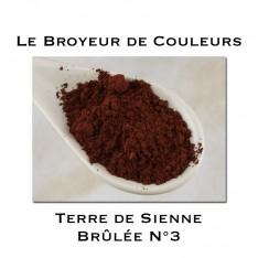 Pigment Terre de Sienne Brûlée N°3