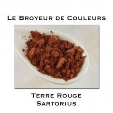 Pigment Terre Rouge Sartorius