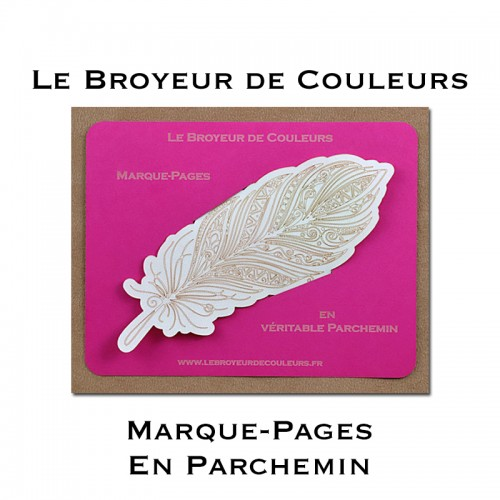 Marque-Pages Plume