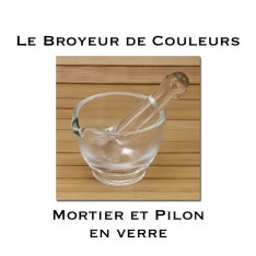 Mortier en Verre - 60 mm