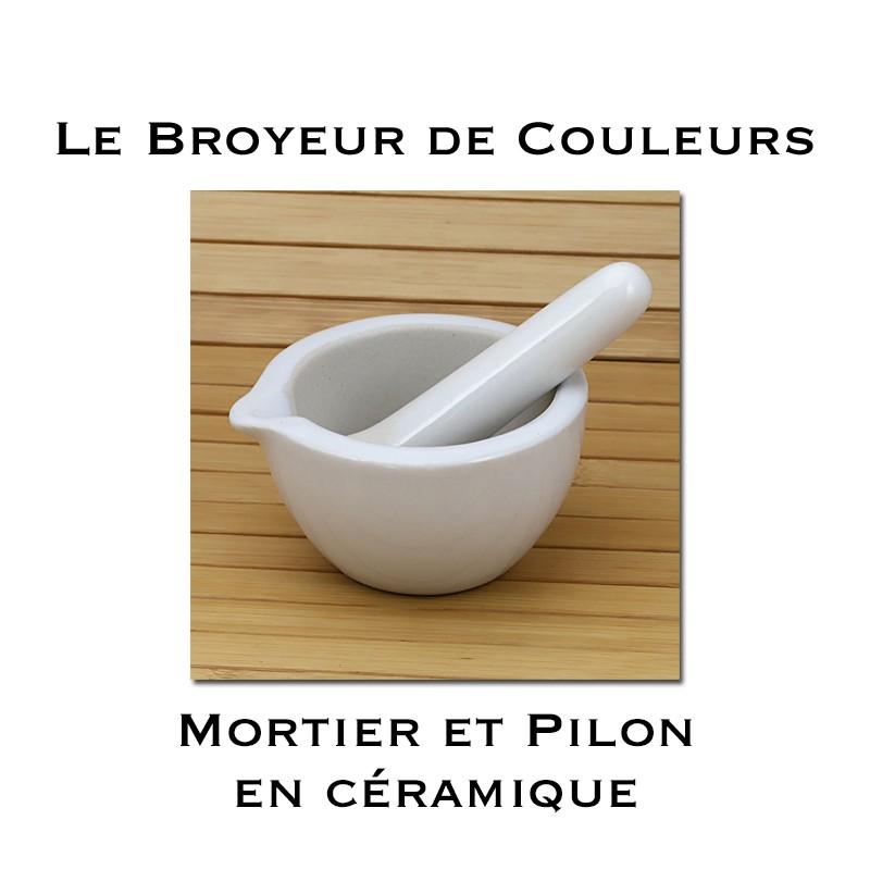 Mortier en Céramique - 80 mm
