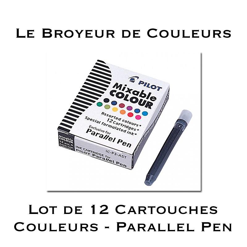 Cartouches d'encre 12 couleurs pour Parallel Pen