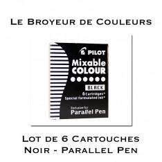 Cartouches d'encre Noire pour Parallel Pen