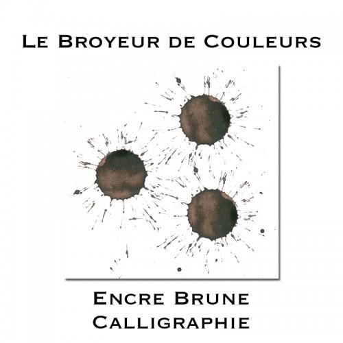 Encre Brune Calligraphie